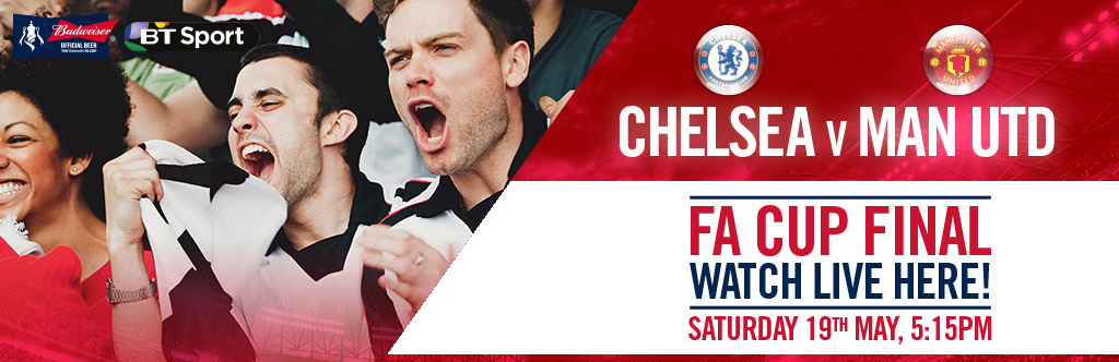 FA Cup Final Live at The Golden Lion