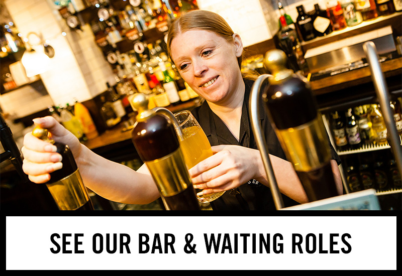 Bar roles at The Golden Lion
