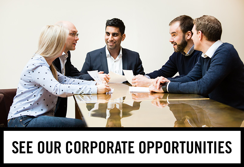 Corporate opportunities at The Golden Lion