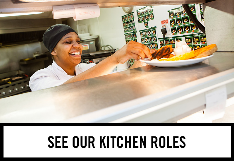 Kitchen roles at The Golden Lion